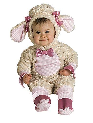 Rubies - Disfraz de oveja para niños, talla bebé 1-2 años (Rubie