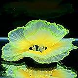 Lrxinki Planta Artificial De Coral para Acuario, Pecera Emulacional Coral Coral Artificial Silicona Coral Ornamento Plantas Acuario Tanque Peces DecoracióN Paisaje DecoracióN (Naranja)