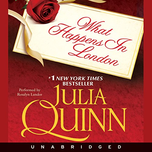 What Happens in London audiobook cover art