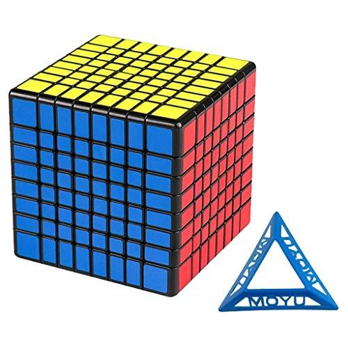 HXGL-Cubos Mágicos Cubo De Velocidad 8x8 Cubo Rompecabezas