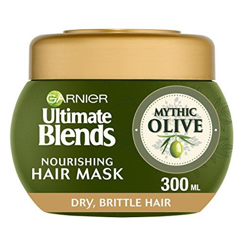 Garnier Ultimate Blends - Maschera capelli, trattamento per capelli danneggiati, 300 ml