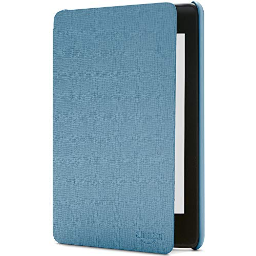 Amazon Kindle Paperwhite-Lederhülle, kompatibel mit der 10. Generation (2018), Dunkelblau