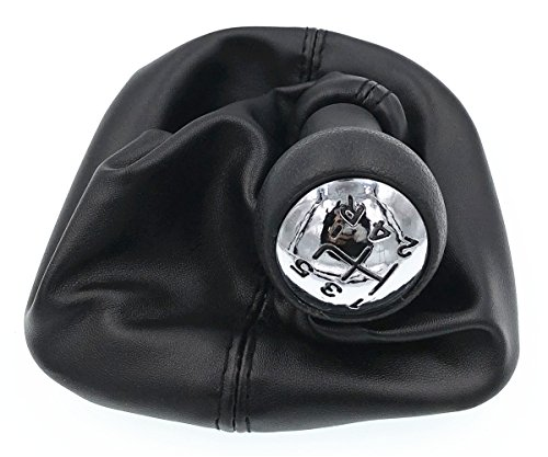 HZTWFC Palanca de cambios Palanca de cambios Manija Perilla de cambio de velocidades de tela 5 velocidades