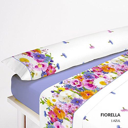 Preisvergleich Produktbild Hochwertige Bettwäsche. 135 azul