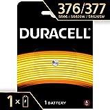 Pile oxyde d'argent Duracell spéciale 377/376 1,55V, pack de 1 (SR66 / SR626 /...