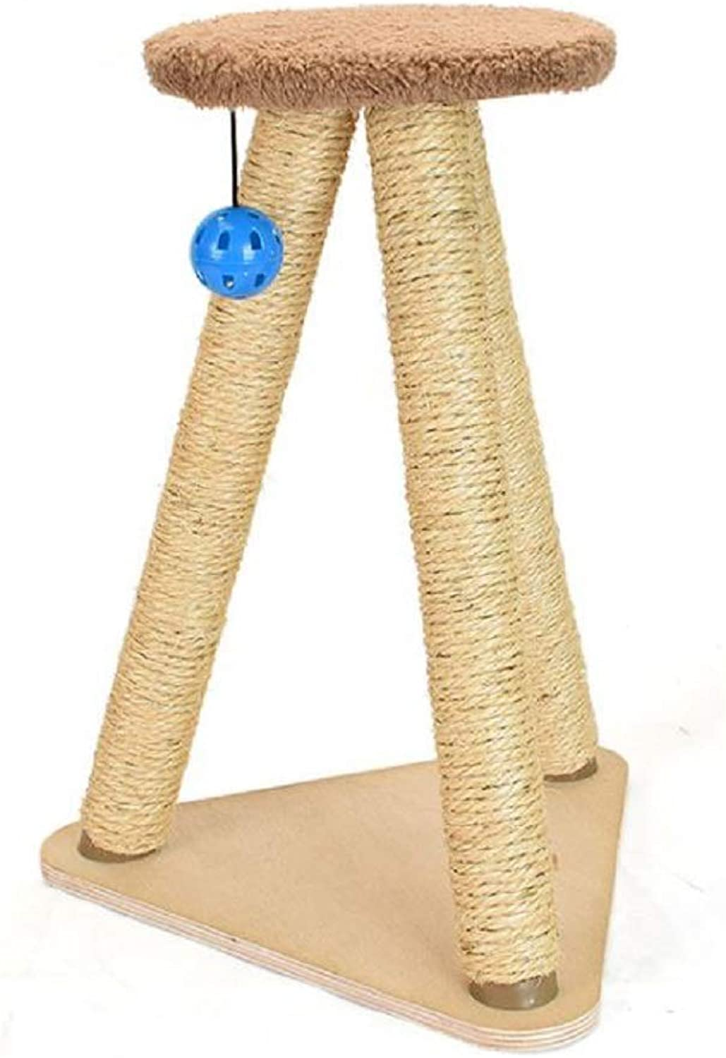 GDDYQ Cat Scratch Board, Large Sisal Cat Grab Column, Natural and Environmentally Friendly Cat Claw Toy
