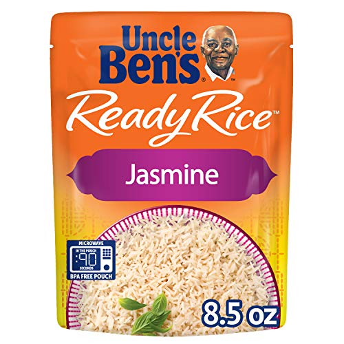 UNCLE BEN#039S Ready Rice: Jasmine Rice Ready to Heat 85 Oz Pouches Pack of 6