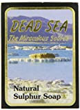 J Malki Natürliche Schwefelseife, Totes Meer, 90 g
