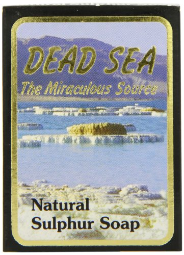 J Malki Natuurlijke zwavelzeep, dode zee, 90 g