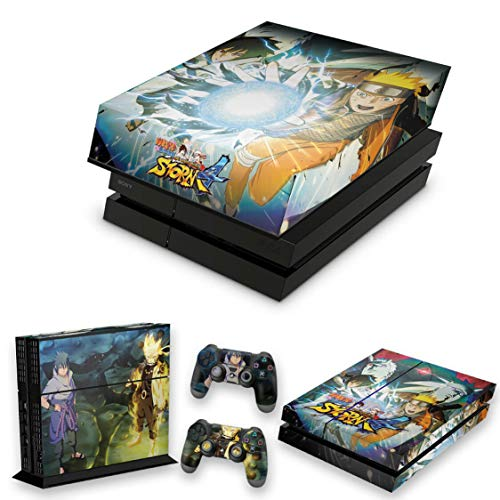 Capa Anti Poeira e Skin para PS4 Fat - Naruto Shippuden: Ultimate Ninja Storm 4