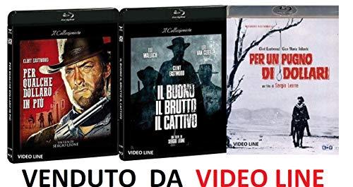 Per Qualche Dollaro In Piu' / Il Buono E il Brutto Il Cattivo / Per un Pugno Di Dollari (3 Film Blu Ray) ITALIANO