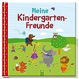 Meine Kindergarten-Freunde: Freundebuch Motiv Tiere - Petra Eimer