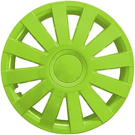 Autoteppich Stylers Größe Wählbar 13 Zoll Radkappen Radzierblenden Agat Grün Passend Für Fast Alle Fahrzeugtypen Universal Auto