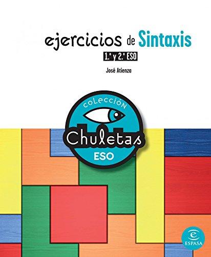 Ejercicios de Sintaxis 3º y 4º ESO (CHULETAS)