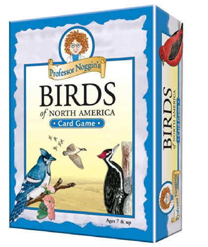 Professor Noggin's Birds of North America - Educational Trivia Card Game for Kids - 180 Questions - Ages 7+