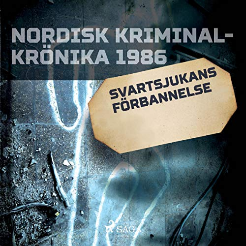 Svartsjukans förbannelse audiobook cover art