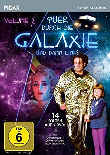 Quer durch die Galaxie und dann links, Vol. 2 / Weitere 14 Folgen der erfolgreichen Science-Fiction-Serie nach dem Roman von Robin Klein (Pidax Serien-Klassiker) [2 DVDs]