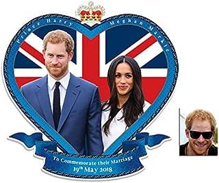 BundleZ-4-FanZ Fan Packs Commemorative Pack - Royal Wedding 2018 Wall Mounted Cardboard Art Cutout Prince Harry & Meghan Markle - Includes 8x10 Star Photo