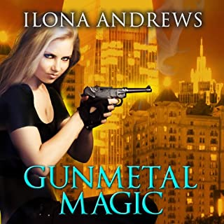 Gunmetal Magic                   Written by:                                                                                                                                 Ilona Andrews                               Narrated by:                                                                                                                                 Renée Raudman                      Length: 12 hrs and 43 mins     13 ratings     Overall 4.7
