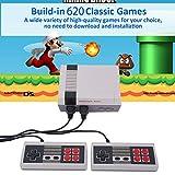 Console di gioco retrò Mini console classica TV Lettore di giochi Console di gioco per famiglie,costruito in 620 giochi,porta ricordi felici …