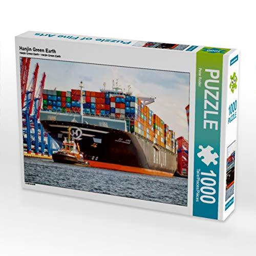 CALVENDO Puzzle Hanjin Green Earth 1000 Teile Lege-Größe 64 x 48 cm Foto-Puzzle Bild von Peter Roder