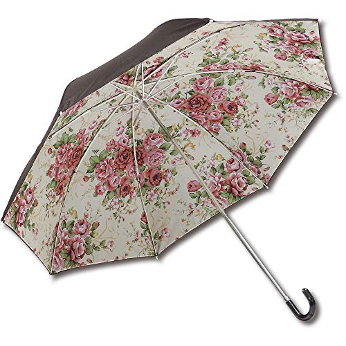 ユーパワー 名画折りたたみ傘(晴雨兼用) ローズLEMON AU-02510