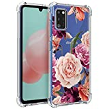 Osophter for Galaxy A41 Case,Samsung A41 Case Flower Floral