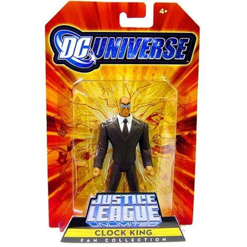 DC Universe Justice League Unlimited Clock King Fan Collection Figure