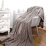 Electric Blanket 72' x 84' Oversized Flannel Heated Throw, ETL Certification Fast Heating Blanket with 3 Heating Levels & 8 Hours Auto Off, Machine Washable