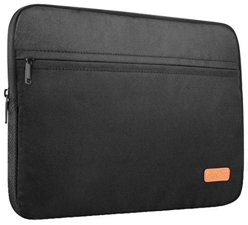 ProCase 11-12 Pulgadas Bolsa Portátil para MacBook 12, Surface Pro X 7 6 4 3, iPad Pro 12.9, Funda Protectora para La mayoría de 11-12 Pulgadas Ultrabook Netbook MacBook Chromebook -Negro