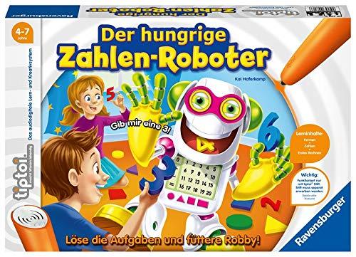 tiptoi® Der hungrige Zahlen-Roboter: Löse die Aufgaben und füttere Robby!
