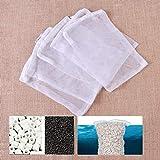 Ictronix - 10 bolsas de filtro de acuario, 30 x 20 cm