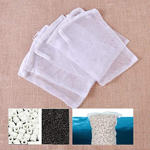 ICTRONIX 10x Aquarium Filterbeutel Filtersack 30cmx20cm