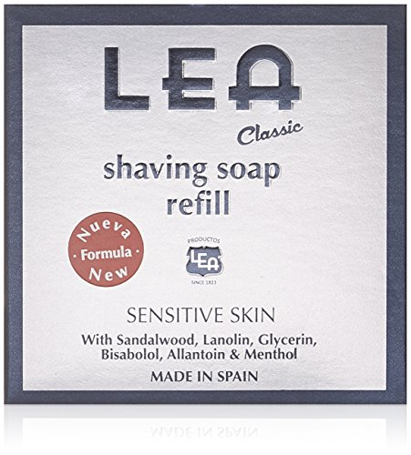 Lea Classic Recambio de Jabón de Afeitar - 100 gr