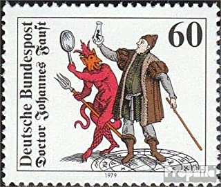 FRD (FR.Germany) 1030 (complete.issue) 1979 doctor Faust (Stamps for collectors)