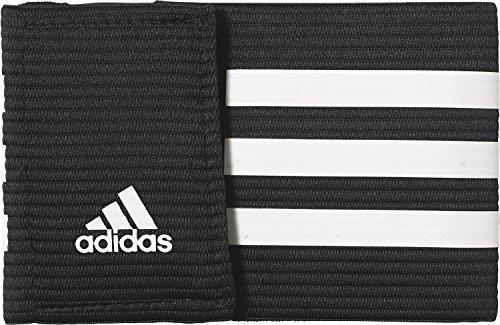 adidas Fußball Spielführer-armbinde, Black/White, One size