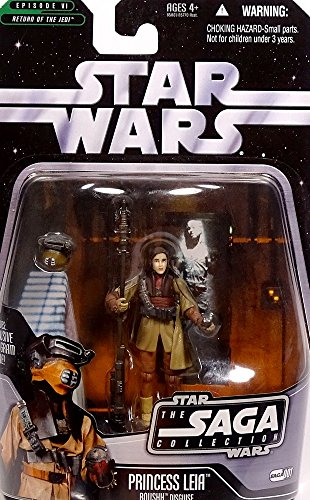 Hasbro Princess Leia in Boushh Disguise Return of The Jedi TSC001 - Star Wars The Saga Collection 2006