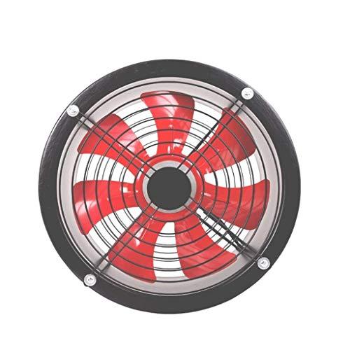 Abluftventilator, Badlüfter Wandhalterung Abluftventilator, Fensterläden Außenansicht schwarzer Abluftventilator, 12 Zoll, Hochleistung, kommerzielle Grade-Fans Belüftungsventilator Luft-Entlüftung Ga