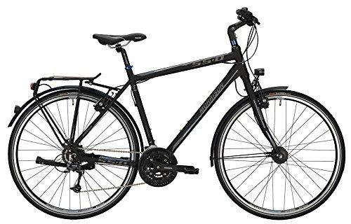 Trekkingbike Morrison S 5.0 Herren 28' 27-Gang Matt Black , Rahmenhöhen:L(55);Farben:Matt Black