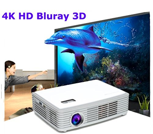 Video proyector Smart Blu-ray 3d WiFi proyector 4 K HD Mini LED ...