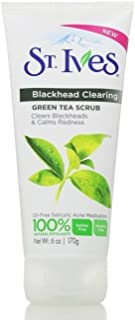 St. Ives Blackhead Clearing Face Scrub Green Tea 6 oz(Pack of 2)