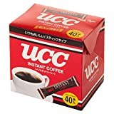 UCC インスタントコーヒー スティック 40本入 80g