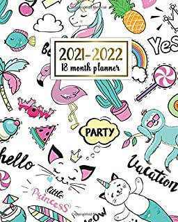 2021-2022 18 Month Planner: Vacation Weekly Agenda, Diary, Calendar, Organizer | 2021-2022 18 Month Planner with To Do Lis...