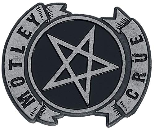 Motley Crue Pentagram Metal Pin - Logo Music Band Hat Lapel Pin Brooch Badge