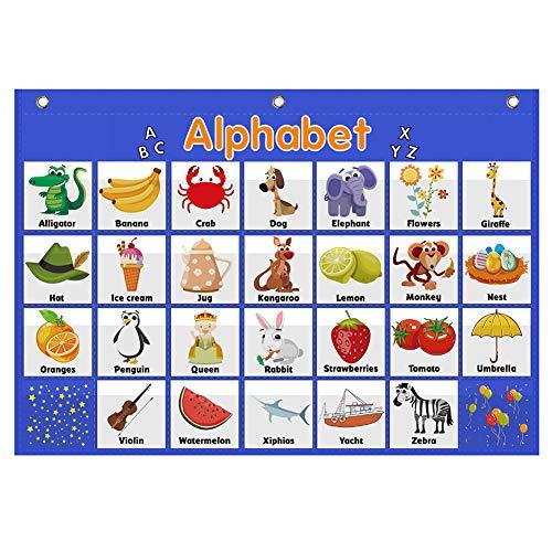 Alphabet Pocket Chart,Word Recognition Pocket Chart, ABC Pocket Chart,ABC Alphabet Pocket Chart