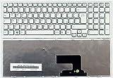 Infoelettronica Tastiera Italiana Bianca Compatibile con Sony Vaio PCG-71911M Serie 148971441 Completa di Frame