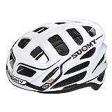 SUOMY GUNWIND - Casco para Bici, Multicolor (White/Black), L (59-62)