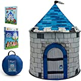Nona Active Castle Play Tent - Easy to Set Up and Sturdy - for Kids Ages 3-12 - Indoor Play House and Kids Tent