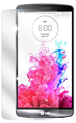dipos I 2X Schutzfolie klar kompatibel mit LG G3 Folie Bildschirmschutzfolie