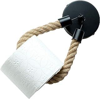 Porte Papier Toilette, Support Rouleau Papier Porte Papier Salle de Bain WC Mural Auto-Adhesif Support Papier Toilettes Po...